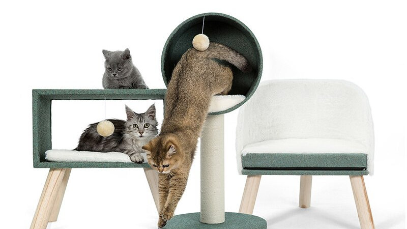Cat Tower Sisal Scratching Posts