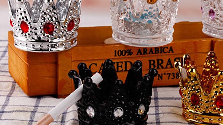 Creative Mini Crown Ashtrays