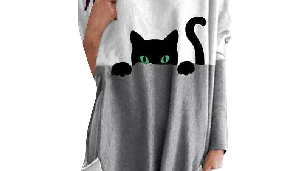 Oversized Women's Kitty Sweater