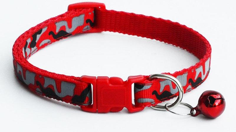 Nylon Camo Pet Collars
