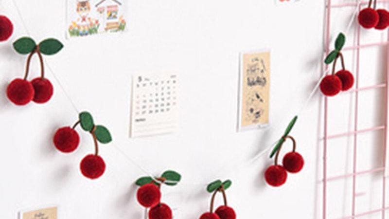 Handmade Felt Fruit Garlands