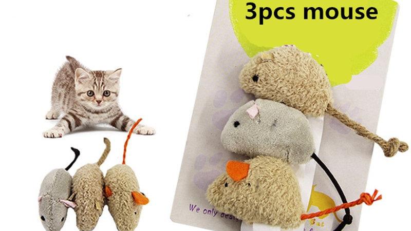 3pcs New Plush Mouse Toy