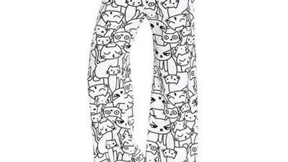 Cat Flare Leggings