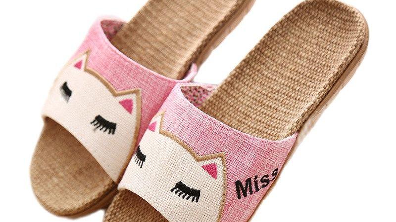 Cute Cat Sandals