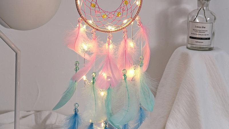 Dream Catchers with LEDs