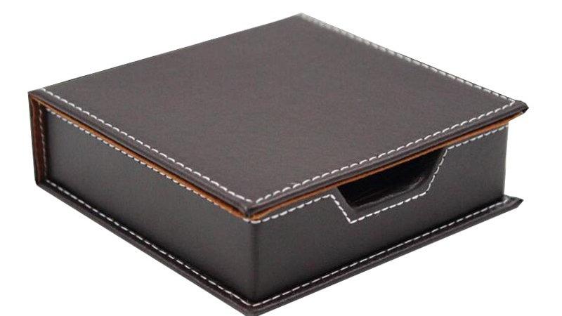 Leather Memo Box