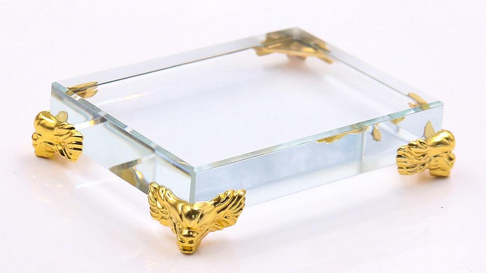Crystal Glass Display Stand