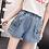 Thumbnail: High Waisted Kitty Jean Shorts