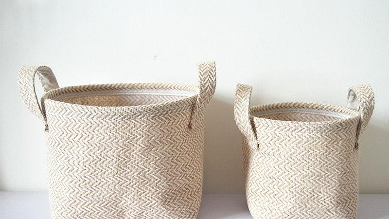 Jute Woven Storage Basket