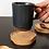 Thumbnail: Wooden Paw Print Coaster