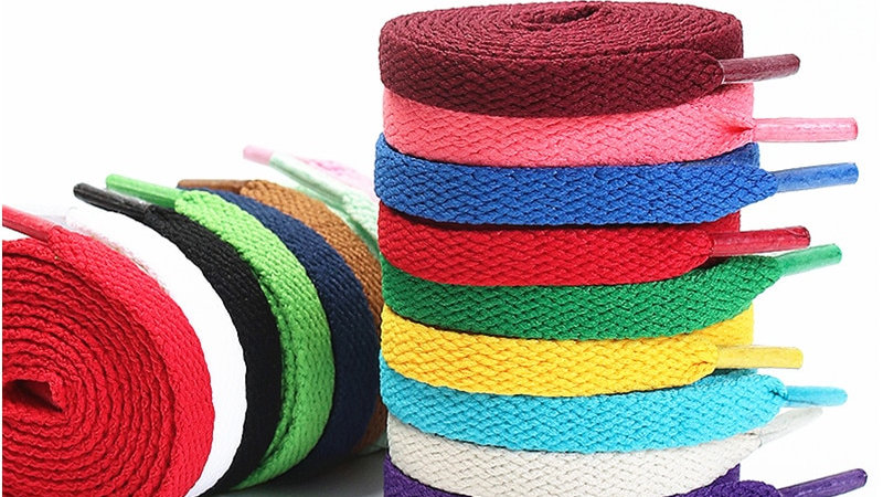 Colourful Printed Shoelaces