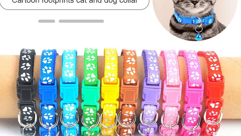 Colourful Bell Collar for Pets