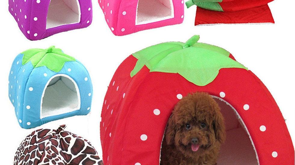 Fruity Strawberry Pet Houses