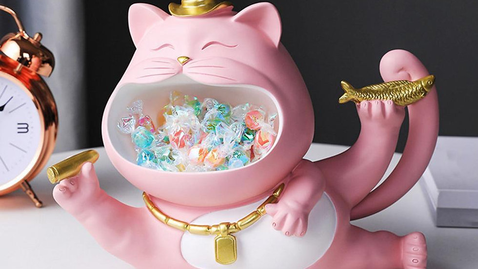 Big Mouth Cat Ornament