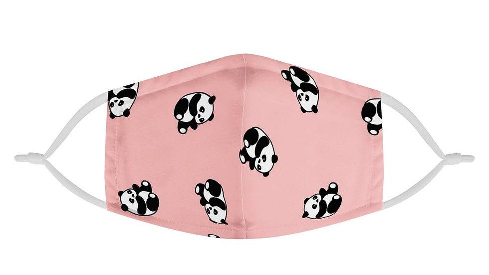 Pink Panda Face Mask