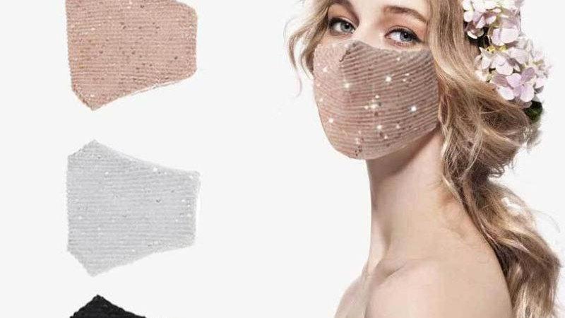 Sequin Mask for Women