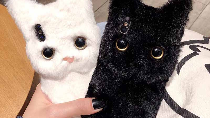 Cute Furry Kitty Phone Case