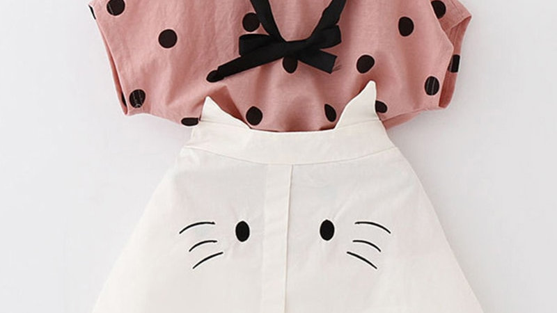 Adorable 2 Piece Toddler Outfits