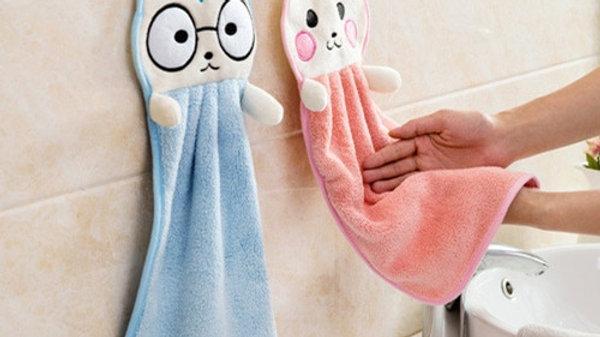Cute Kitty Hand Towels