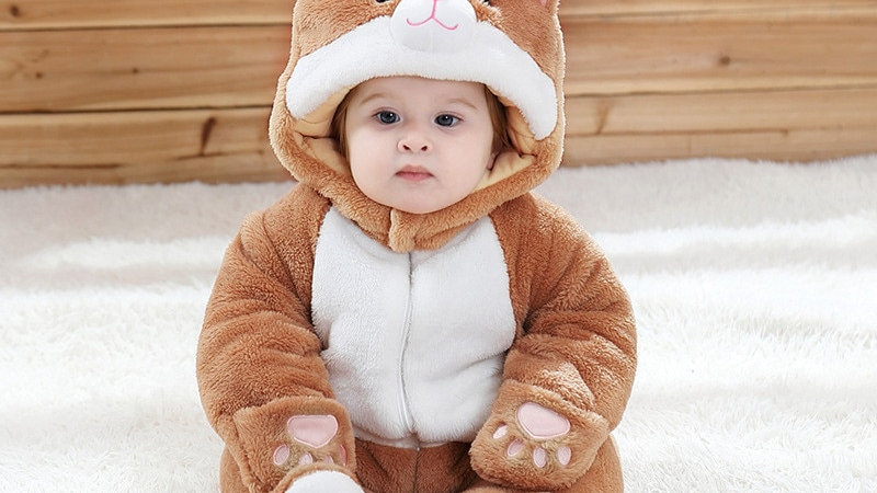 Cosy Kitty Jumpsuits for Infants
