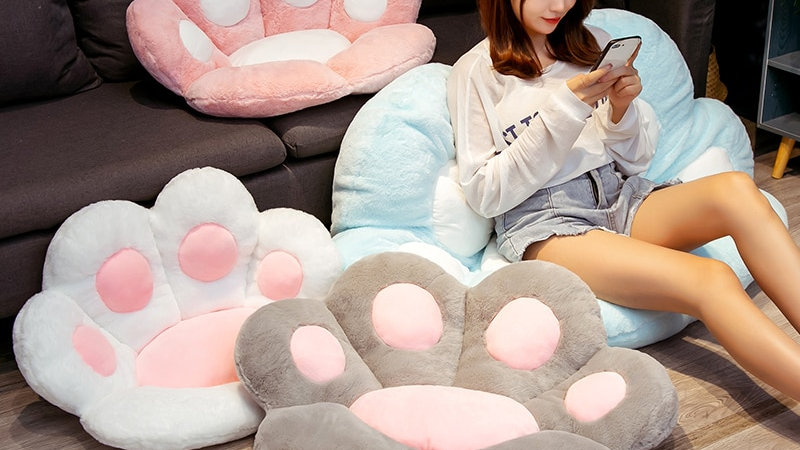 Paw Shaped Pillow