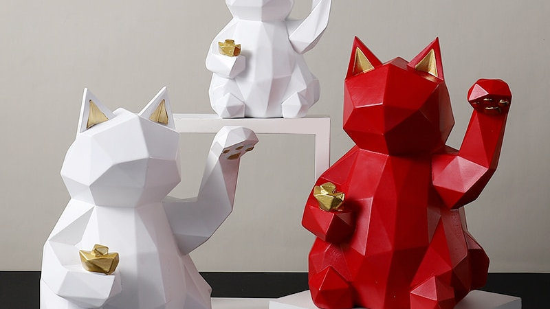 Lucky Cat Decoration