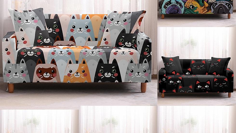 Animals Stretch Sofa Cover