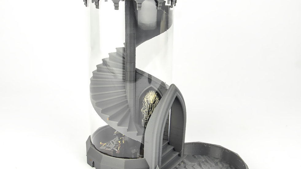 Spiral Dice Tower