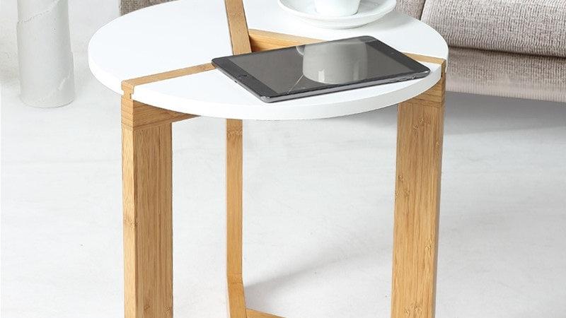 Bamboo Wood Tea Table