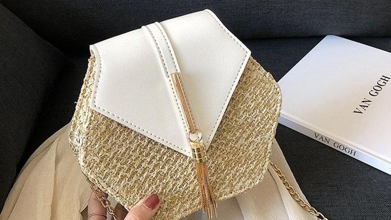 Hexagon Bohemian Style Handbag
