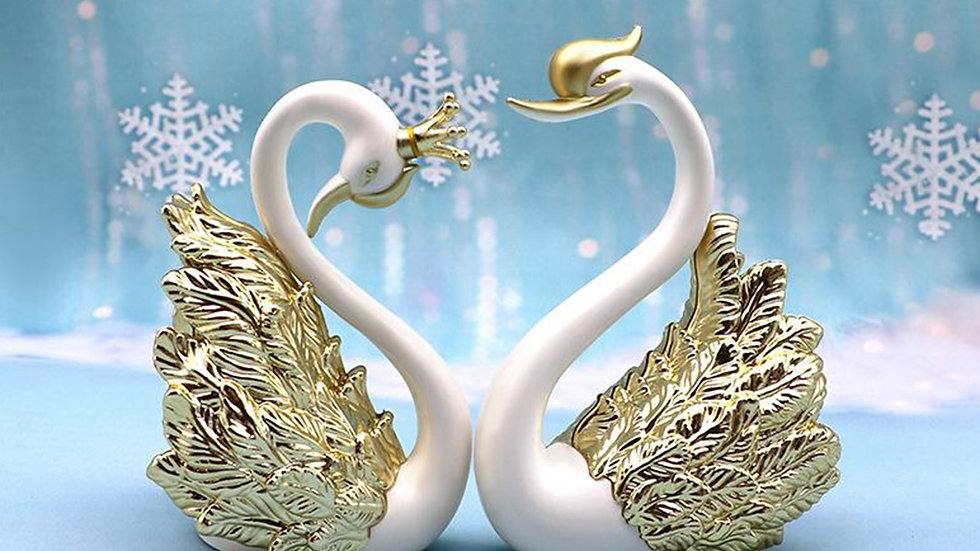 2pcs Swan Table-top Decorations