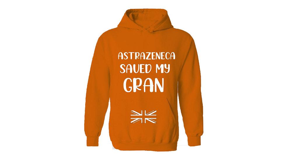 Astrazeneca Saved My Gran Hoodie
