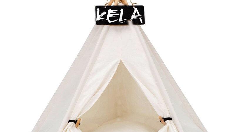 RFWCAK Portable Pet Tent Cat House