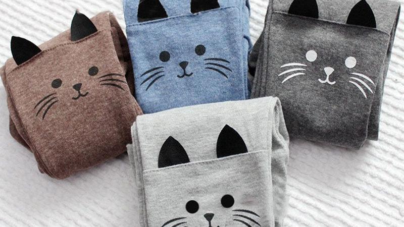 Children's Kitten Leggings