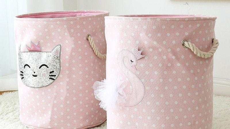 Foldable Animal Laundry Basket
