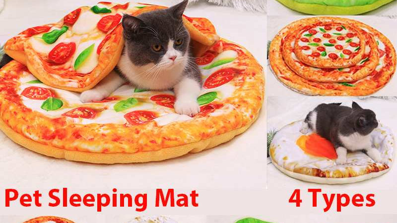 Funny Food Themed Pet Mat and Blanket