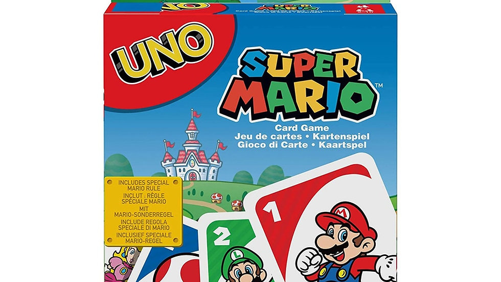 UNO themed Card Game Super Mario Pokemon Frozen WWE Jurassic World Avengers