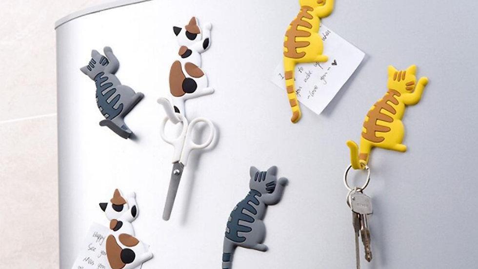 Cute Kitty Fridge Magnets