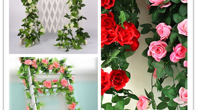 2.5M Artificial Flower Garlands