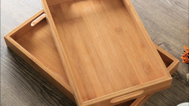Bamboo Breakfast Trays