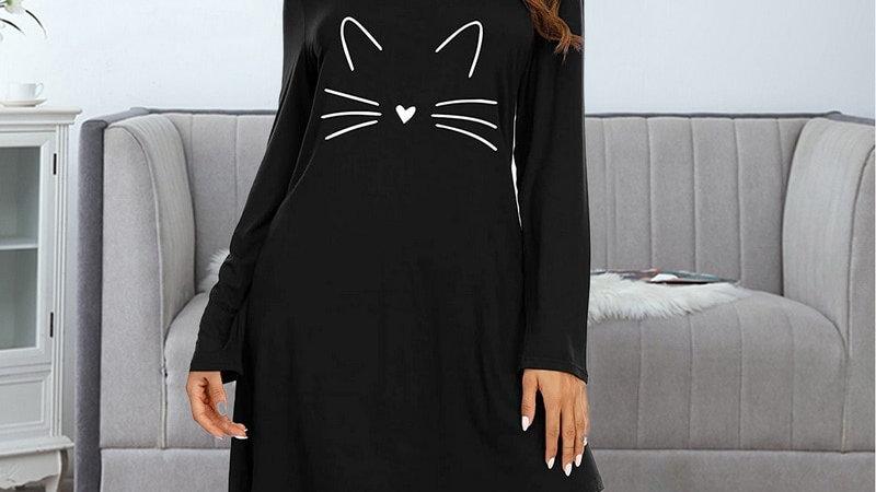 Ladies Kitty Nightgown