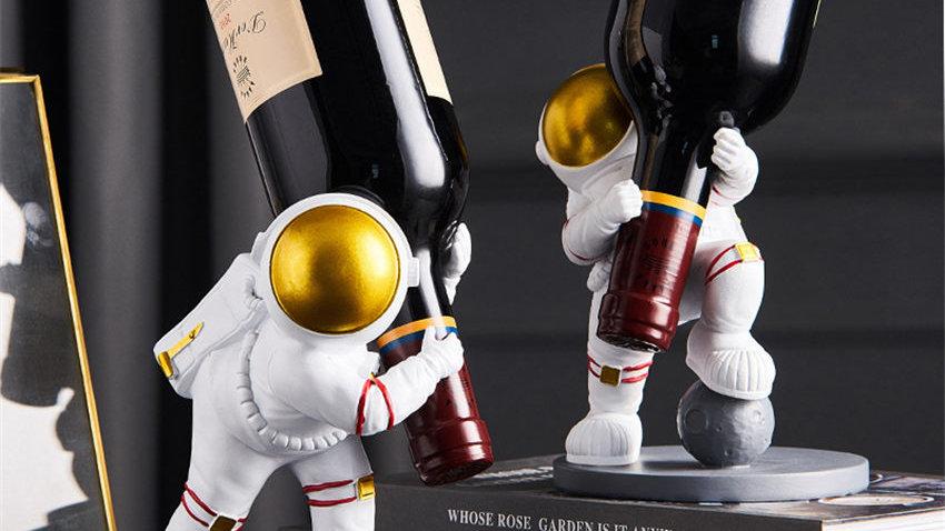 Astronaut Wine Holder