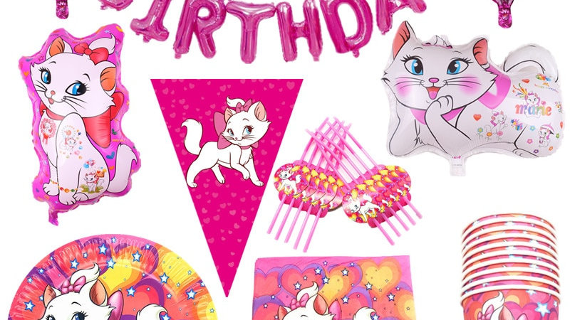 Cute Cat Party Supplies