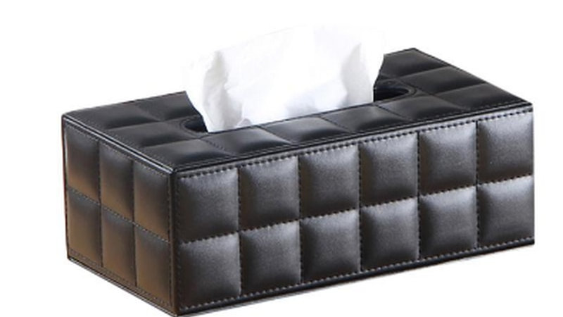 Leather Tissue Box Holders