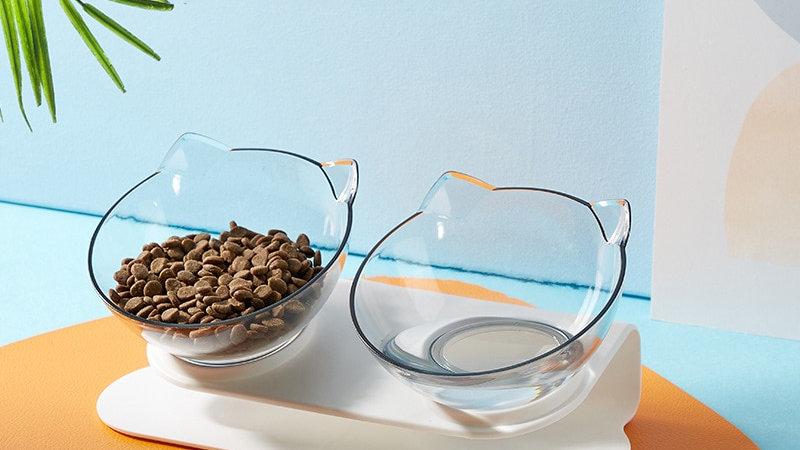 Non-Slip Double Cat Bowls