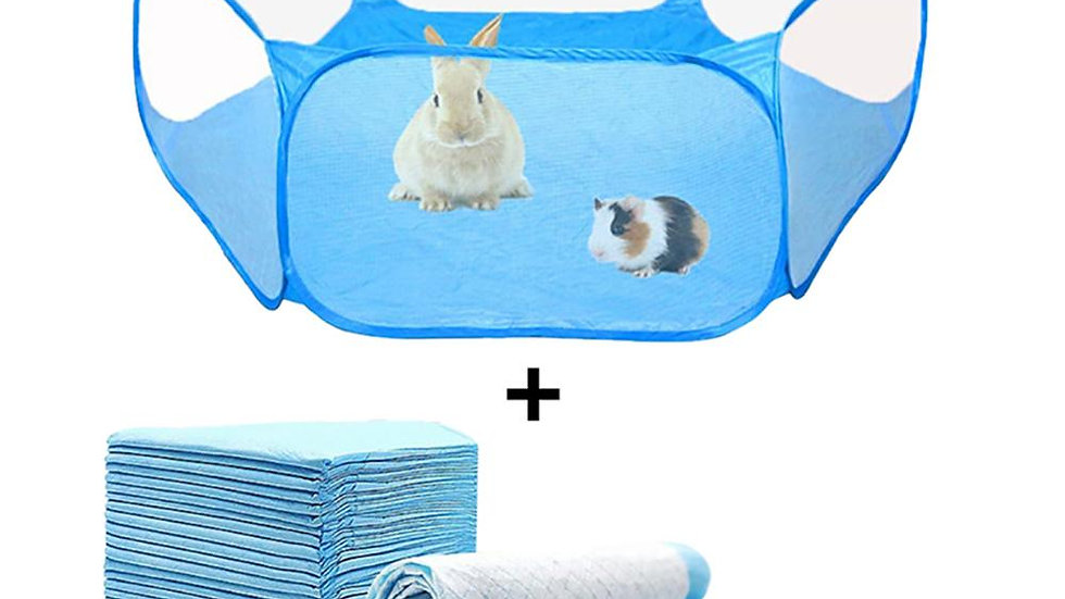 Portable Small Pet Tent and Diapers