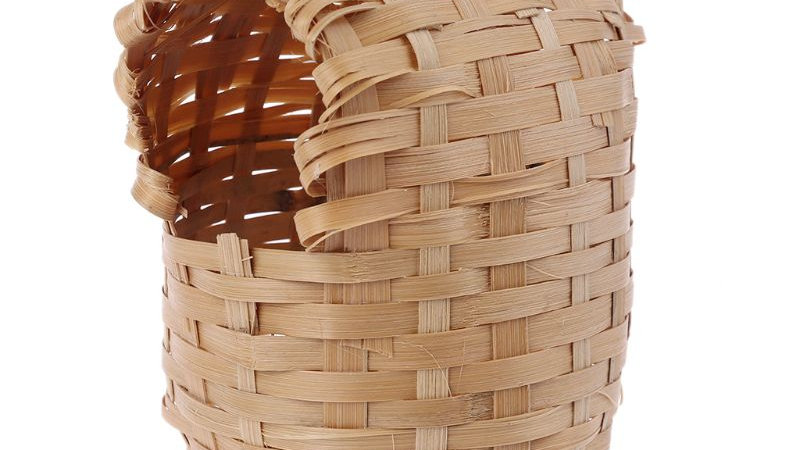 Natural Bamboo Bird House