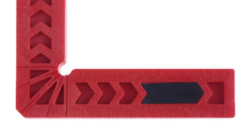 3/4  Inch 90 Degree L Shape Right Angle Ruler
