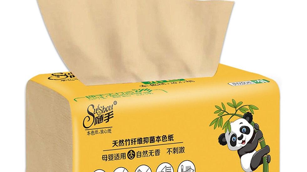 8 Pcs Bamboo Facial Tissues