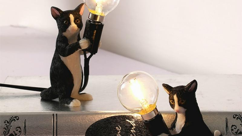 Creative Kitty Table Lamps